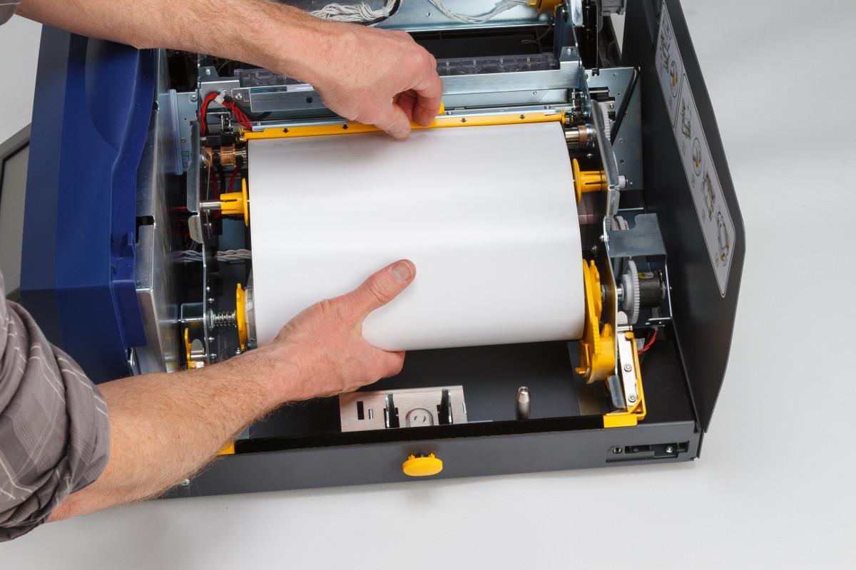 Labelprinter installatie