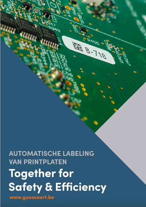 Automatische labeling van printplaten