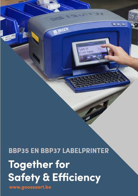 BBP35 en BBP37 labelprinter brochure