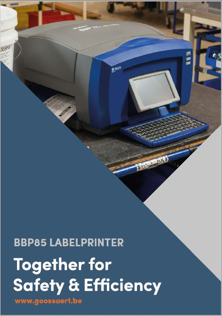 Brady BBP85 Labelprinter brochure
