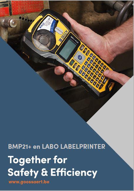 BMP21 labelprinter brochure