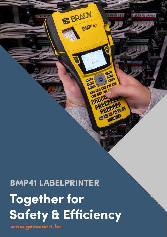 Brady BMP41 labelprinter brochure