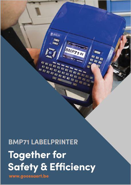 BMP71 labelprinter brochure