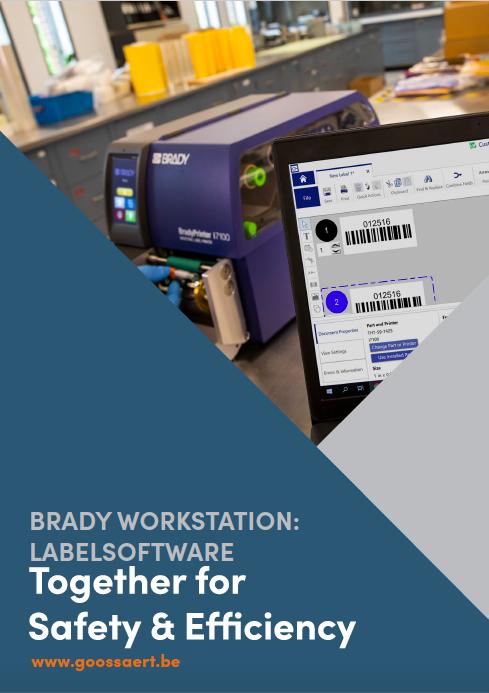 Brady workstation labelsoftware