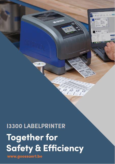 I3300 labelprinter brochure