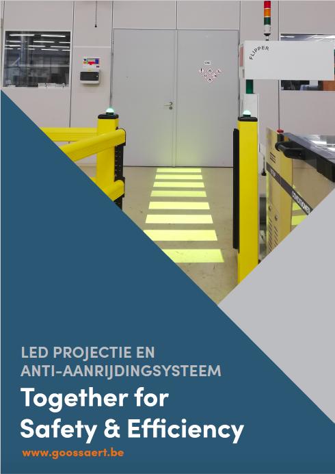 LED projectie en anti-aanrijdingsysteem.