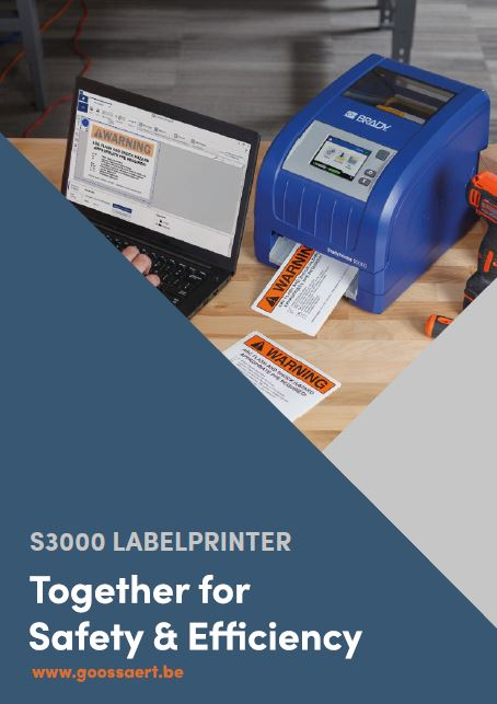 Brady S3000 labelprinter brochure