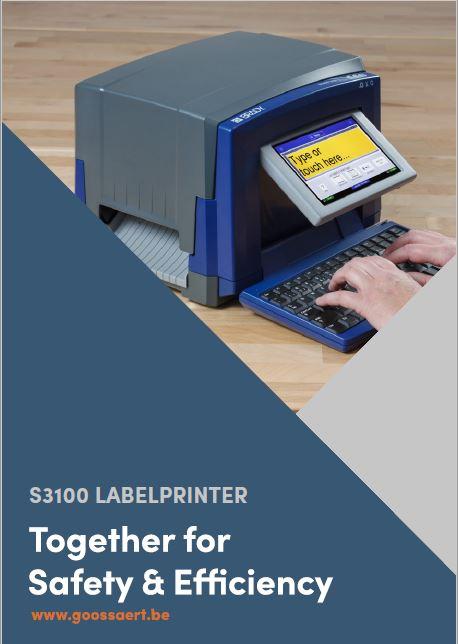 Brady S3100 Labelprinter brochure
