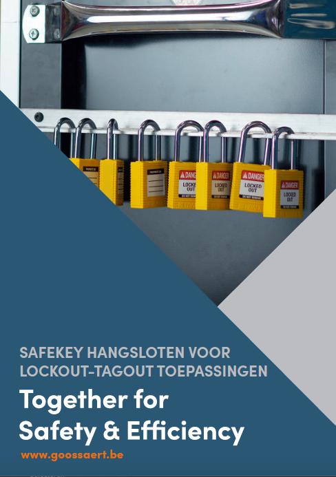 Safekey hangsloten voor lockout-tagout toepassingen