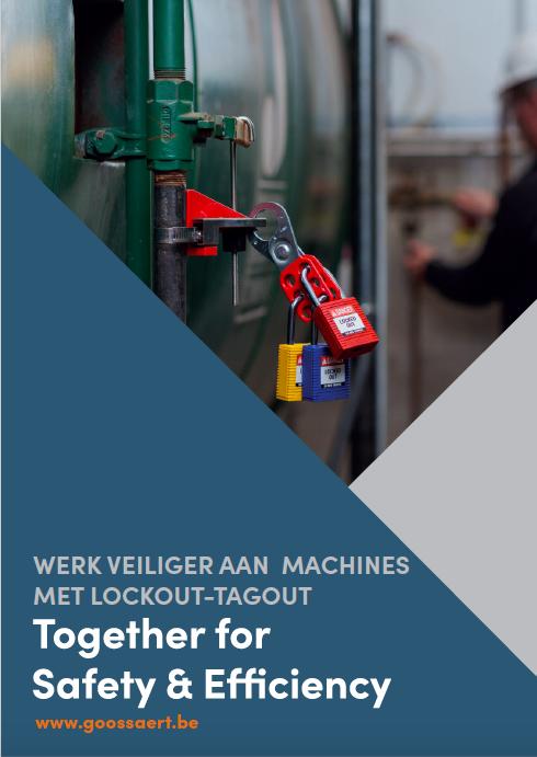 Werk veiliger aan machines met lockout tagout