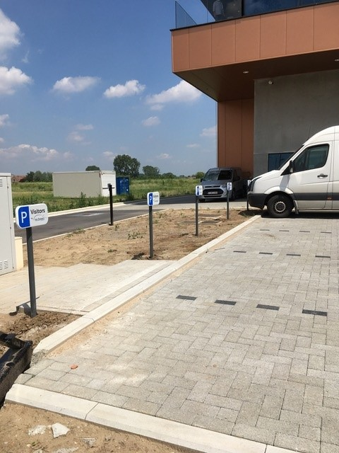 Totaaloplossing Parkingsignalisatie plaatsing